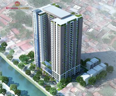 Phối cảnh dự án Riverside Garden Vũ Tông Phan