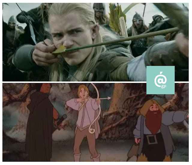 Legolas - El Señor de los Anillos: Peter Jackson Vs Ralph Bakshi / La Comunidad del Anillo - ÁlvaroGP - el fancine - el troblogdita
