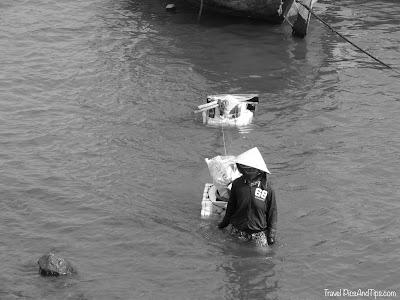 Phue, petit village de pêcheur à Nha Trang au Vietnam