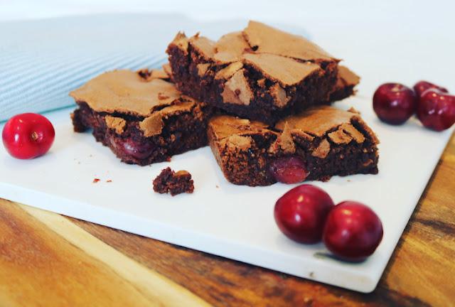 Chocolate & Jerte Picota Cherry Brownies