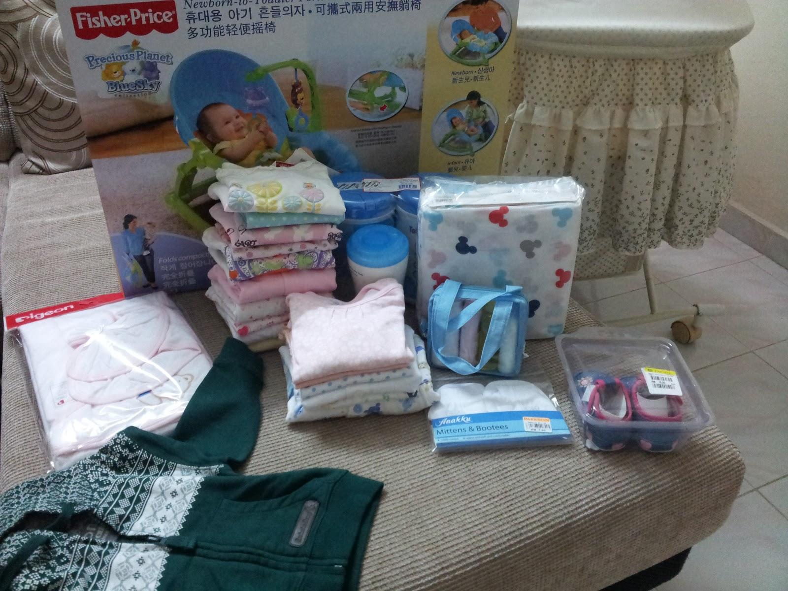 shopping barangan bayi