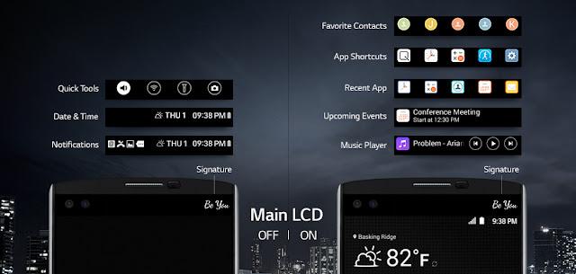 LG V10'dan yeni çift ekran teknolojisi