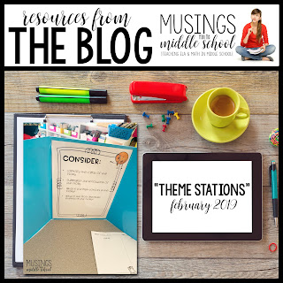 Theme Stations - Resources from the Blog