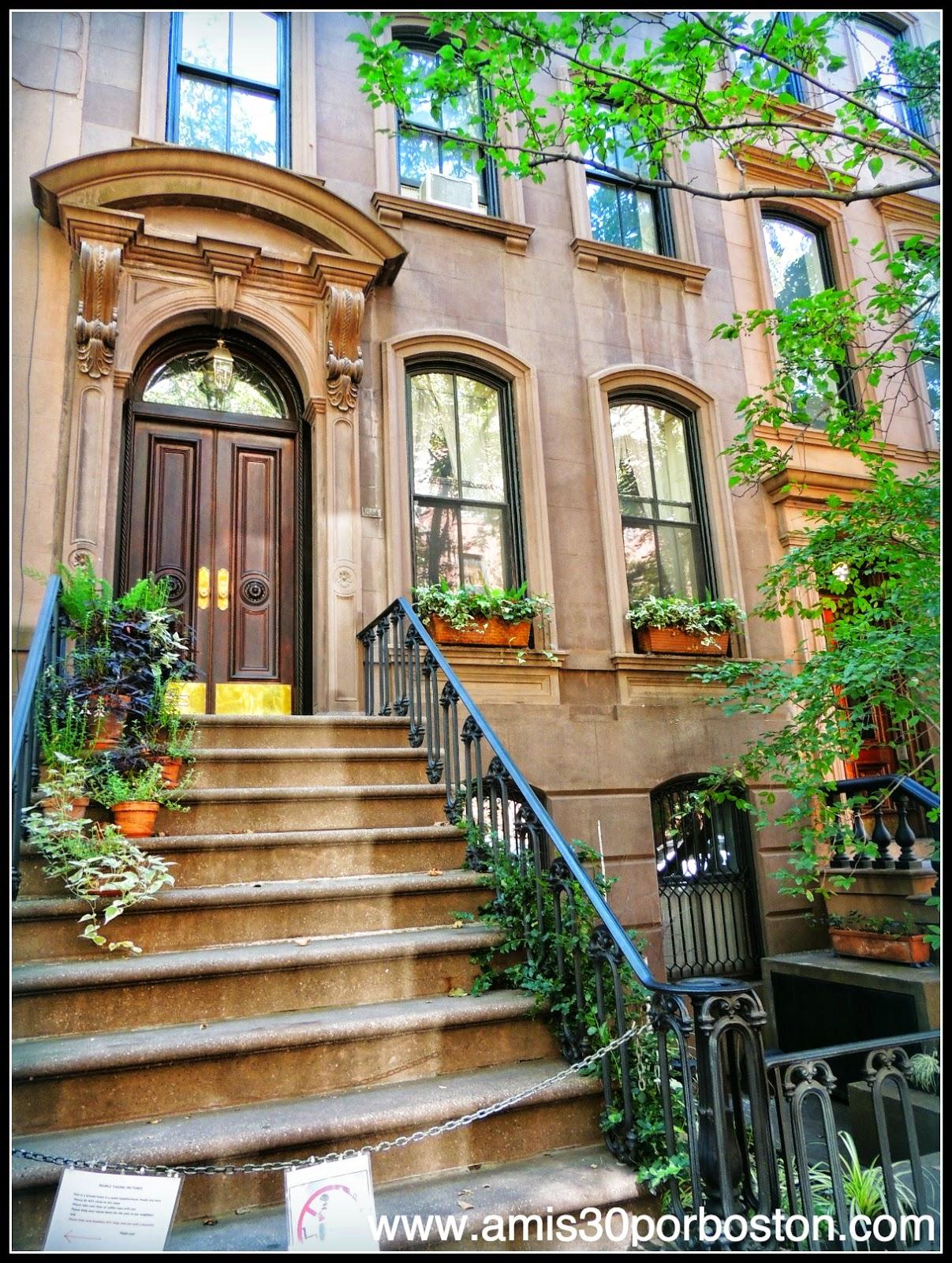 Segunda Visita a Nueva York: Casa de Sarah Jessica Parker en el West Village