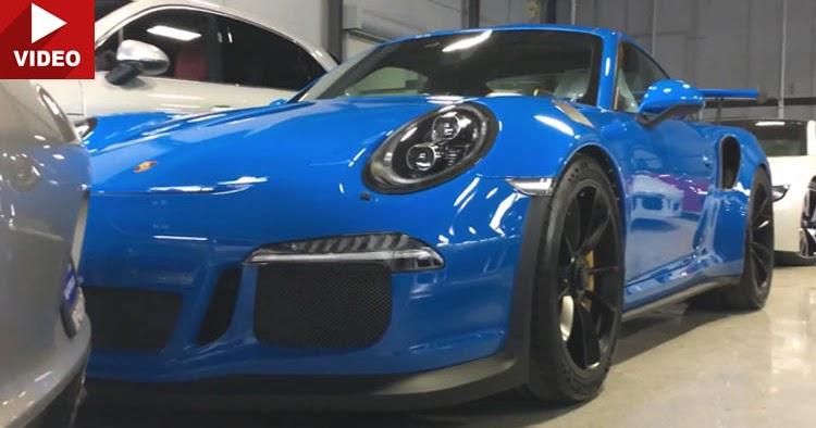 Porsche Arrow Blue Paint Code