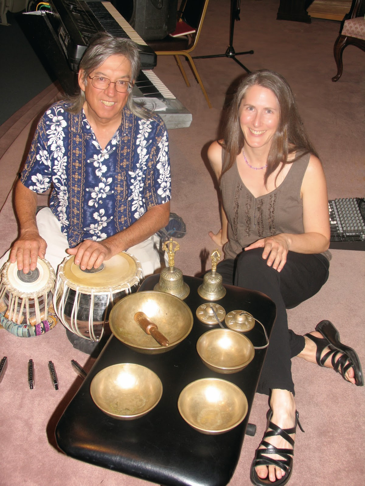 Anton Mizerak and Laura Berryhill Perform in San Clemente