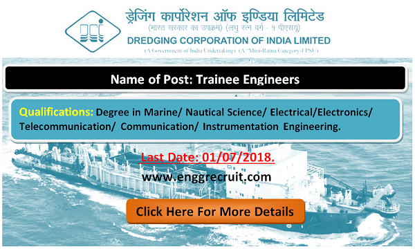 DCIL Recruitment 2018