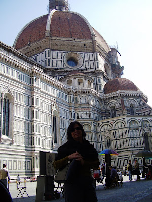Side view - Florence - Italy