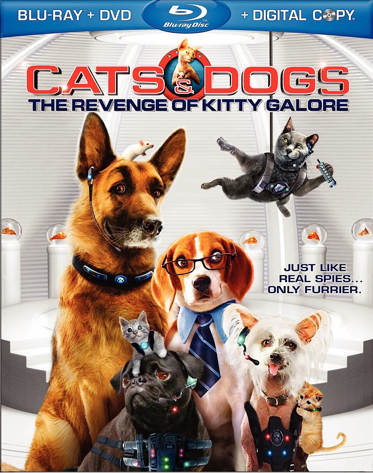 Cats & Dogs: The Revenge of Kitty Galore (2010) ταινιες online seires xrysoi greek subs