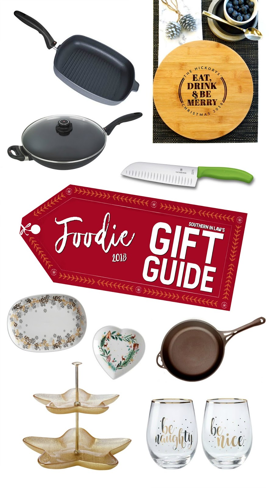 Southern In Law's Foodie Gift Guide 2018 - Gift Ideas for Foodies