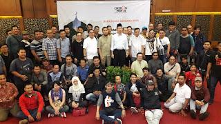 Bukber Dan Silaturahmi Wartawan Dan Cirebon Power Dimeriahkan  Dengan Lomba Tausiyah Antar Wartawan