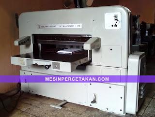 Polar Mohr 115 - mesin potong kertas bekas