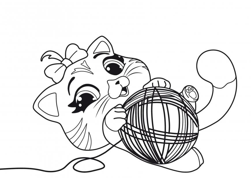 15 Desenhos De Gatos Para Imprimir: 30 Desenhos De Gatos