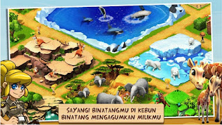 Wonder Zoo Animal Rescue v2.0.7b Gameloft Mod Apk OFFLINE