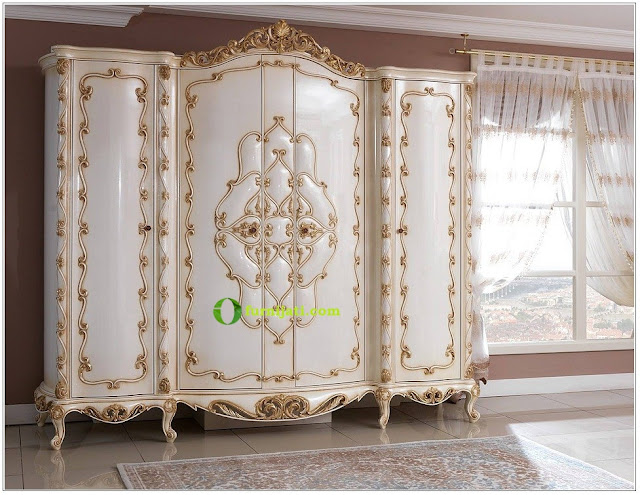 Model lemari kayu jati