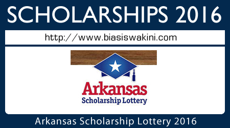 Arkansas Scholarship Lottery 2016
