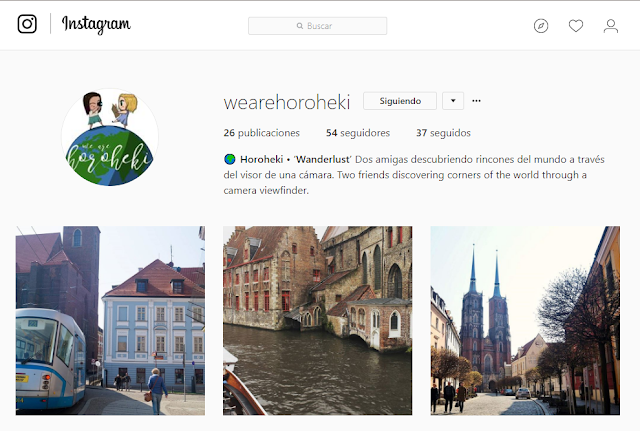 Instagram we are horoheki
