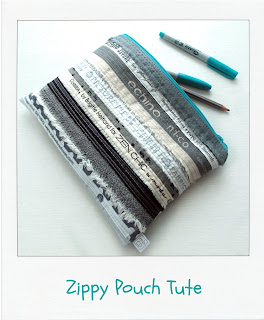 Zippy Pouch Tute by www.madebyChrissieD.com