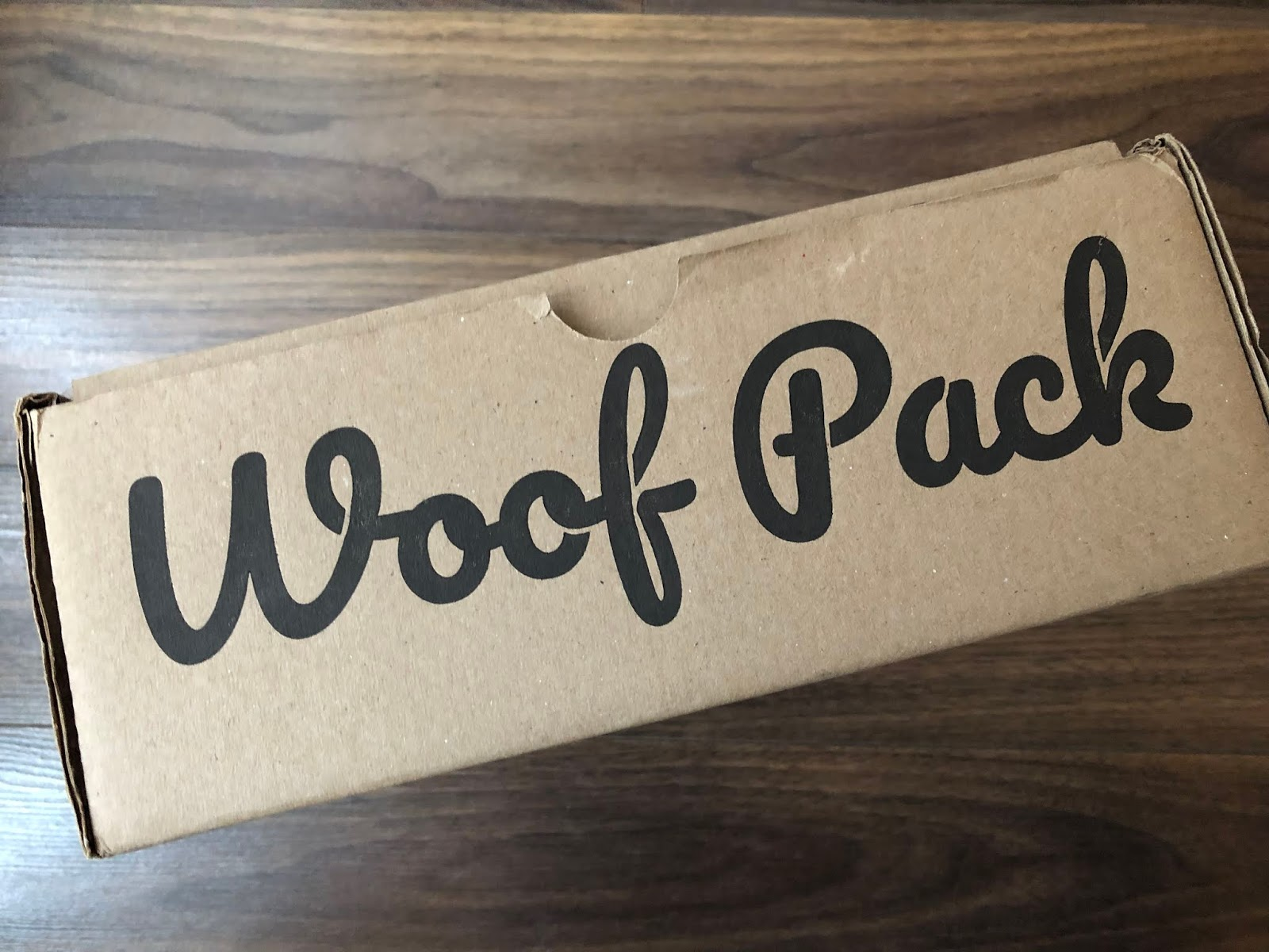 Woof Pack Review January 2019 Canadian Pet Subscription Box