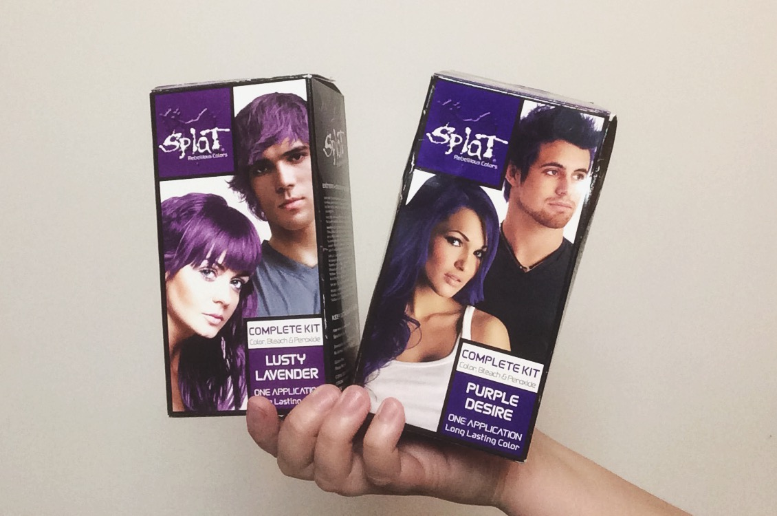Splat Hair Color Purple Hairstyle Inspirations 2018