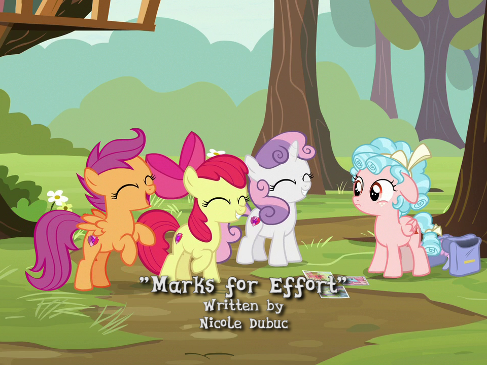 the railfan brony blog mlp episode 812 marks for effort