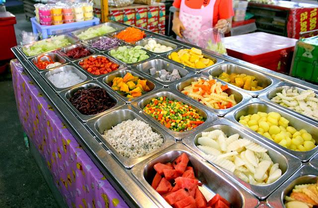 Chiang Mai market food