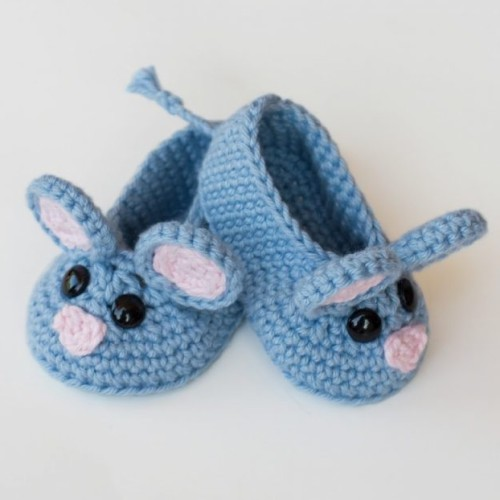 Field Mouse Crochet Baby Booties - Free Pattern
