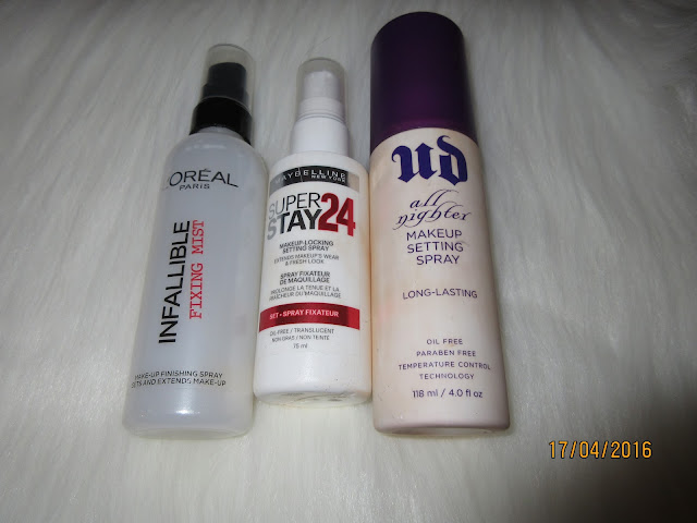 Makeup Setting Sprays