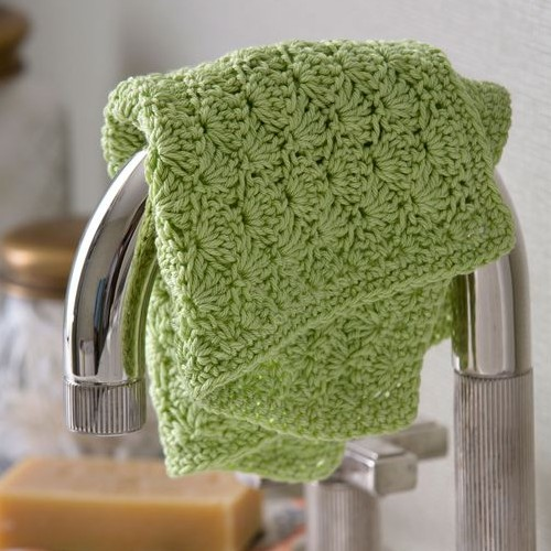 Shell Stitch Washcloth - Free Pattern