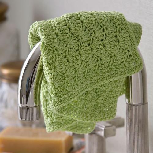 Shell Stitch Washcloth - Free Pattern