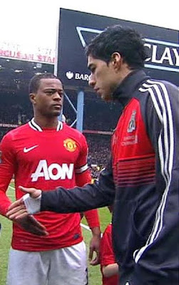 After 5 years of beef, Man U icon Patrice Evra finally buries the hatchet with Luis Suarez with lovely Instagram post