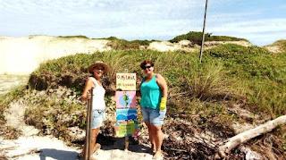 Desafio do Lixo acontece às quartas, na Ilha Comprida