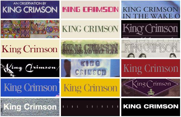 La Gran Final: King Crimson vs. Pink Floyd King-crimson-logos