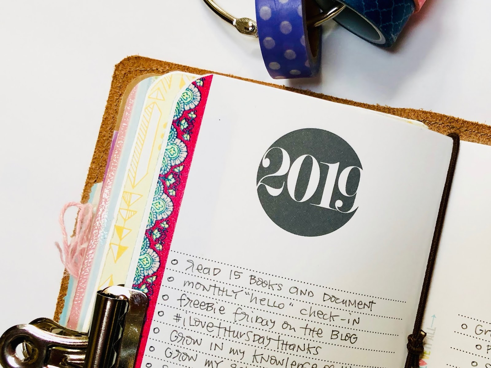 #travelers notebook #goals #goals worksheet #free #printable #download #2019 #midori #A6 #passport #field notes #micro