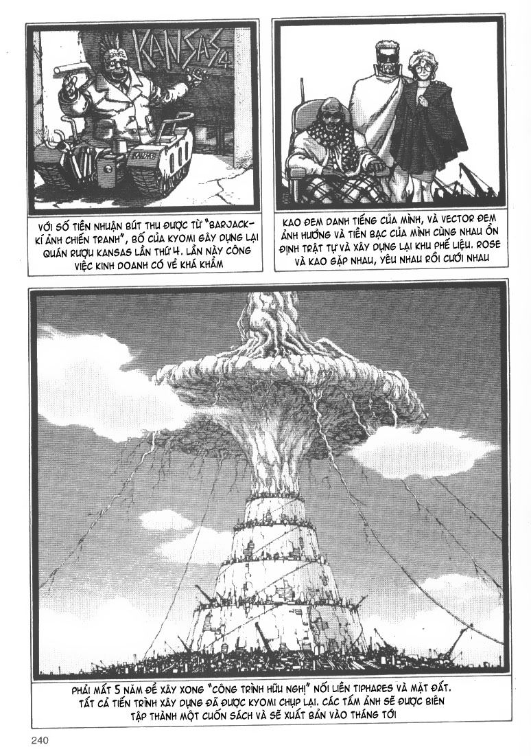 Battle Angel Alita chapter 53 end trang 3