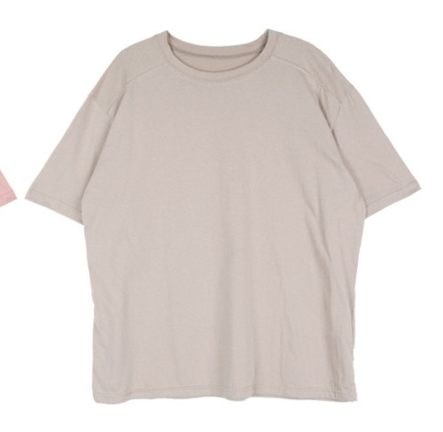 Loose Solid Tone T-Shirt