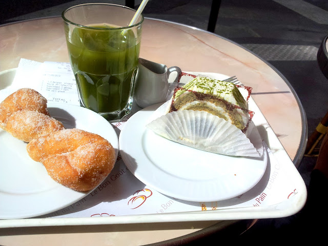 Thé vert matcha - Aki Boulanger
