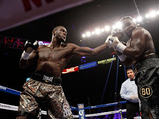 Boxer Deontay wilder