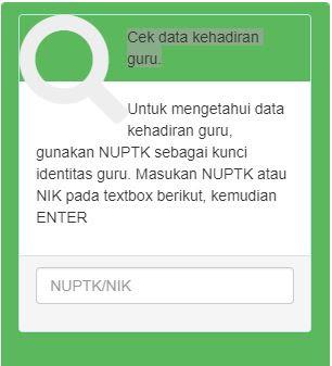 INILAH WEB ABSEN ONLINE DATA KEHADIRAN GURU dan TENAGA KEPENDIDIKAN (ABSEN ONLINE)
