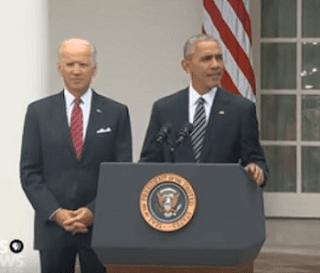 Ucapan Selamat Obama untuk Trump