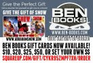 GIVE THE GIFT OF BOOKS!