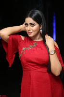 Poorna in Maroon Dress at Rakshasi movie Press meet Cute Pics ~  Exclusive 66.JPG