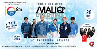 cari tiket chill out with maliq and d'essentials