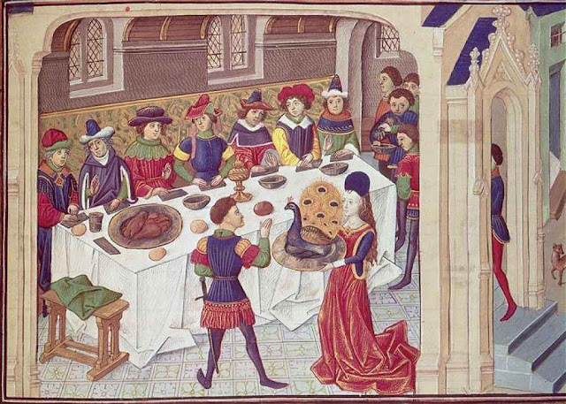 Serviço doméstico da mesa no tempo do rei João da Inglaterra, 1199-1216