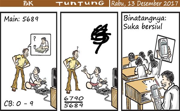 Prediksi Gambar Pak Tuntung Rabu 13 12 2017