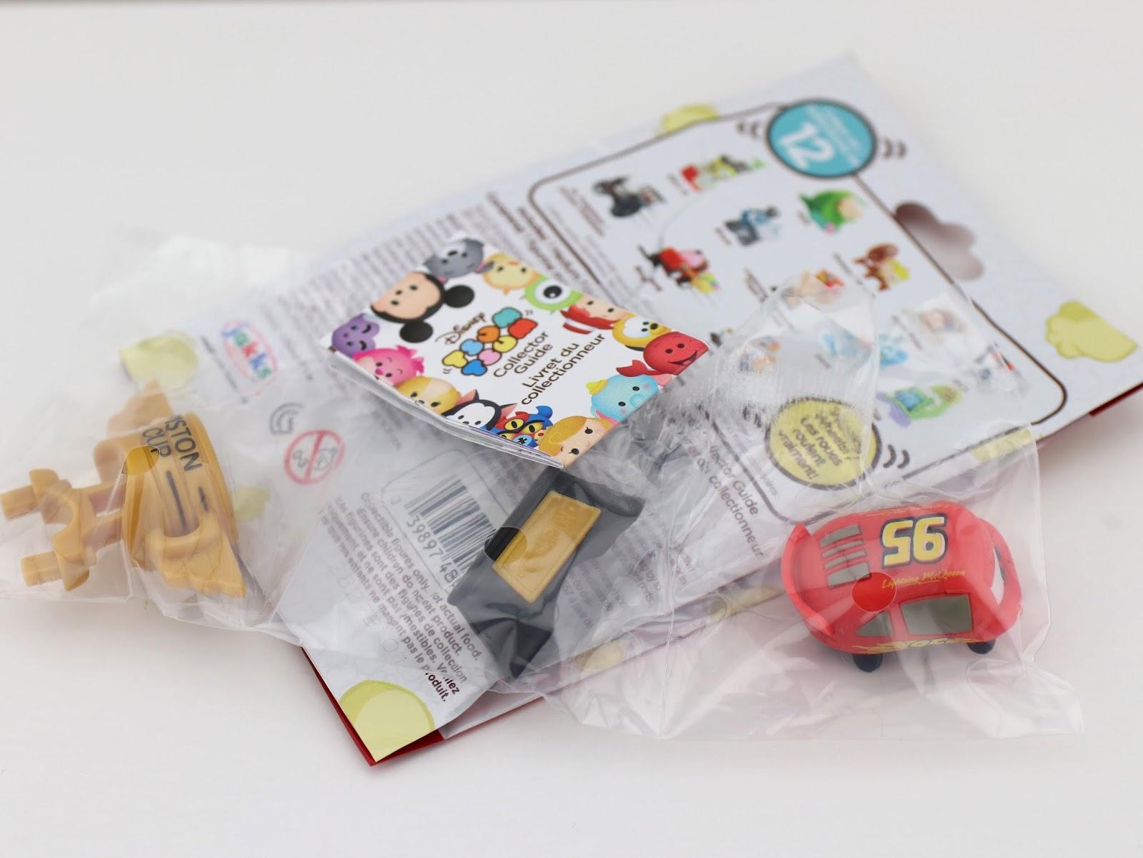 Disney Tsum Tsum Mystery Packs by Jakks Pacific Series 9 Pixar mcqueen