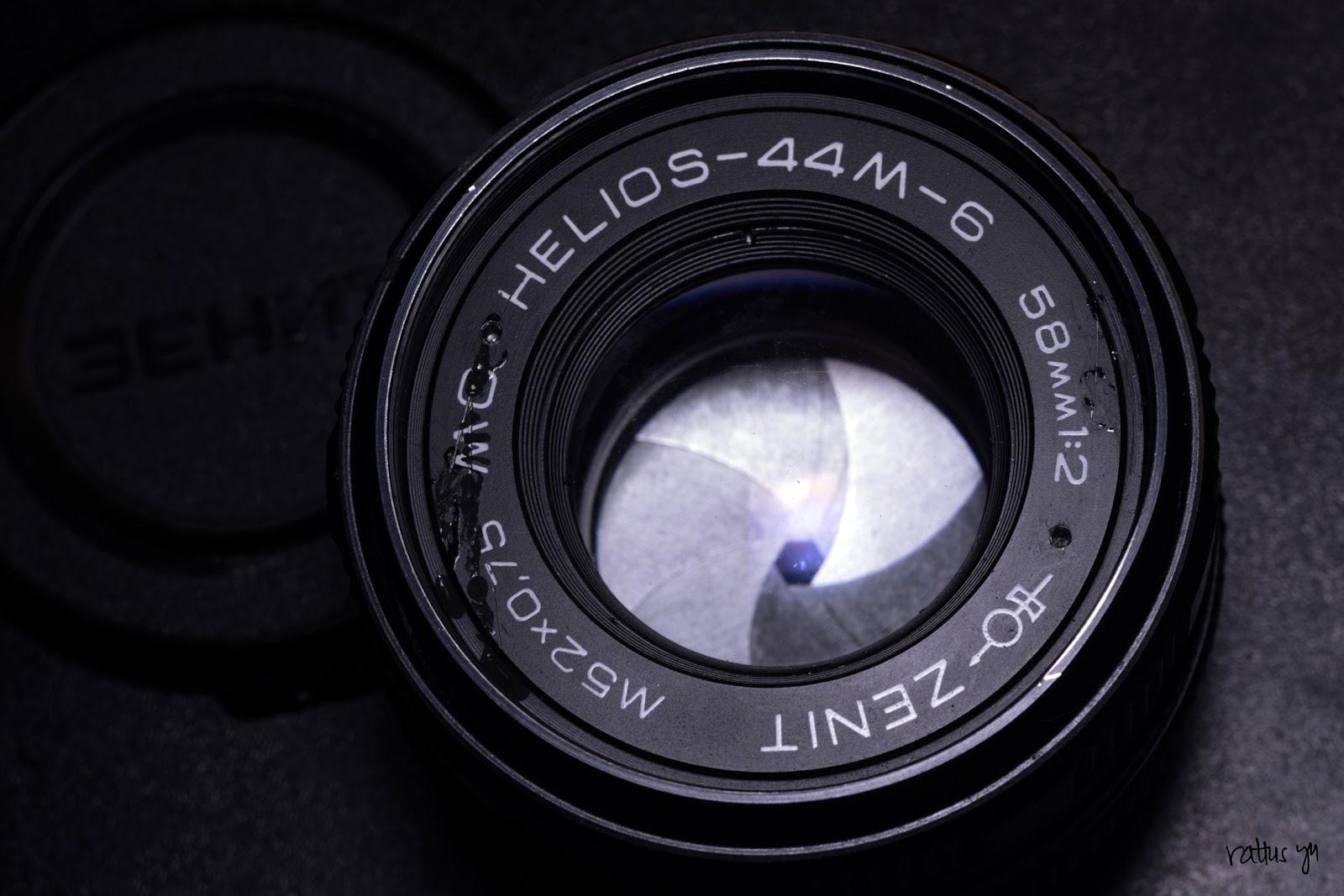 Zenit MC Helios 44M-6 58mm f/2 (M42 with Infinity On Nikon)