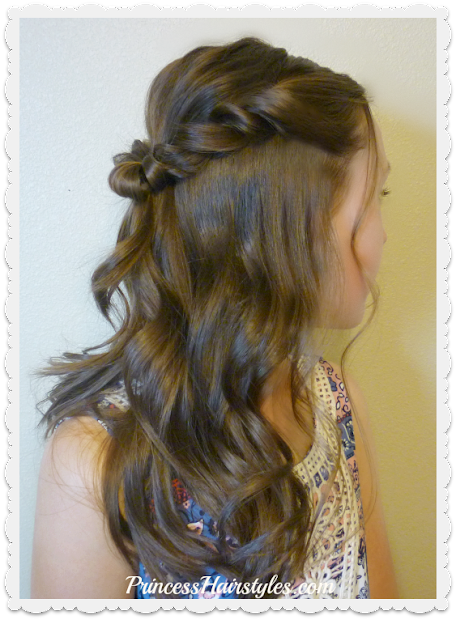 prom hairstyle romantic twist