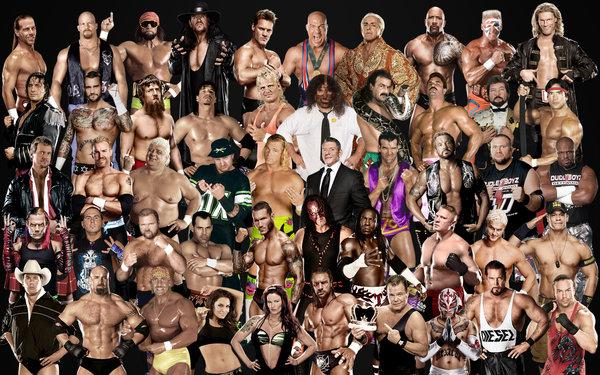 WWE Top 50 Photo Superstars