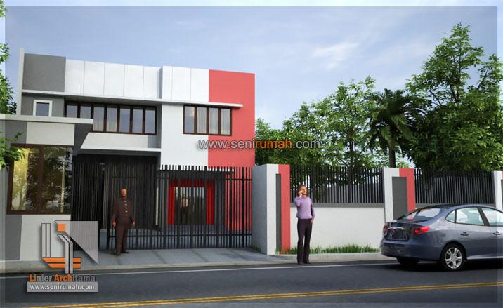 Desain Gudang Pabrik Warehouse Di Lahan 15 X 60 M2 Di Sentul Seni Rumah